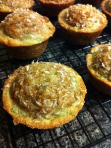 zucchini banana bread muffins