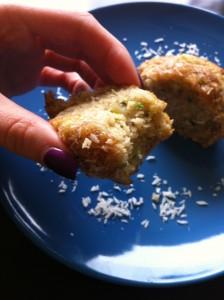 Zucchini Banana Bread Muffin