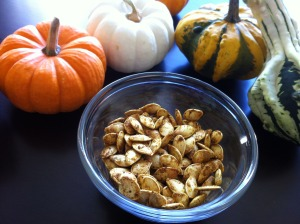 Curry Roasted Pumpkin Seeds