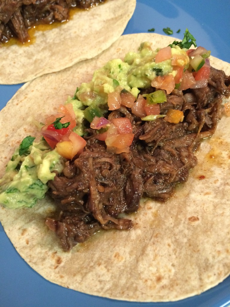 Red Wine Braised Chipotle Short Rib Tacos