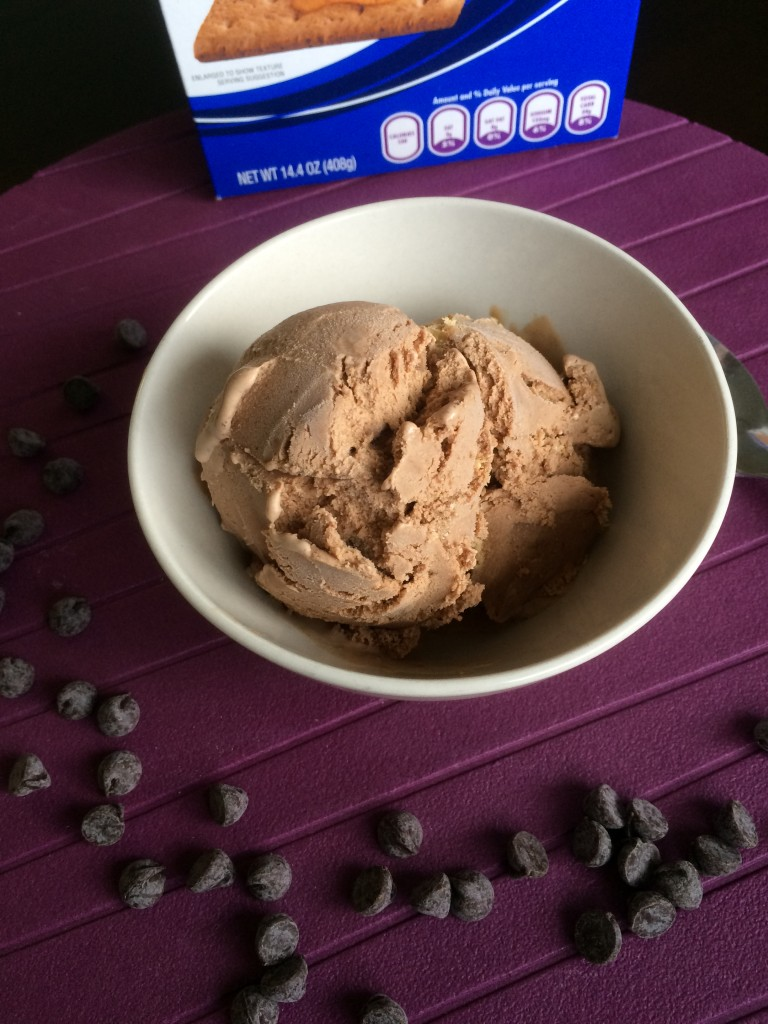 S'mores Ice Cream * Once in a Blue Spoon