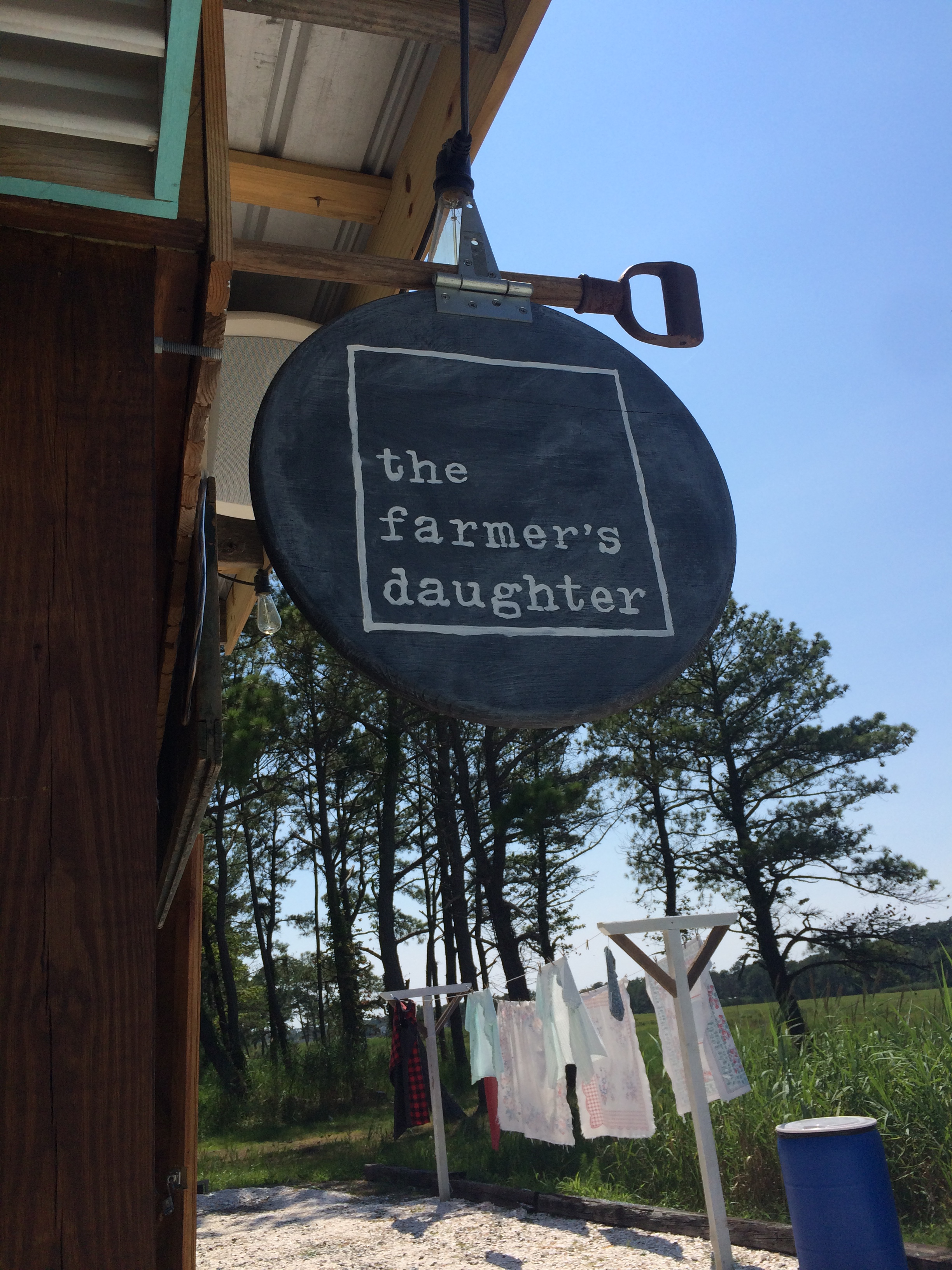 The Farmer's Daughter - Chincoteague Virginia * Once In A Blue Spoon