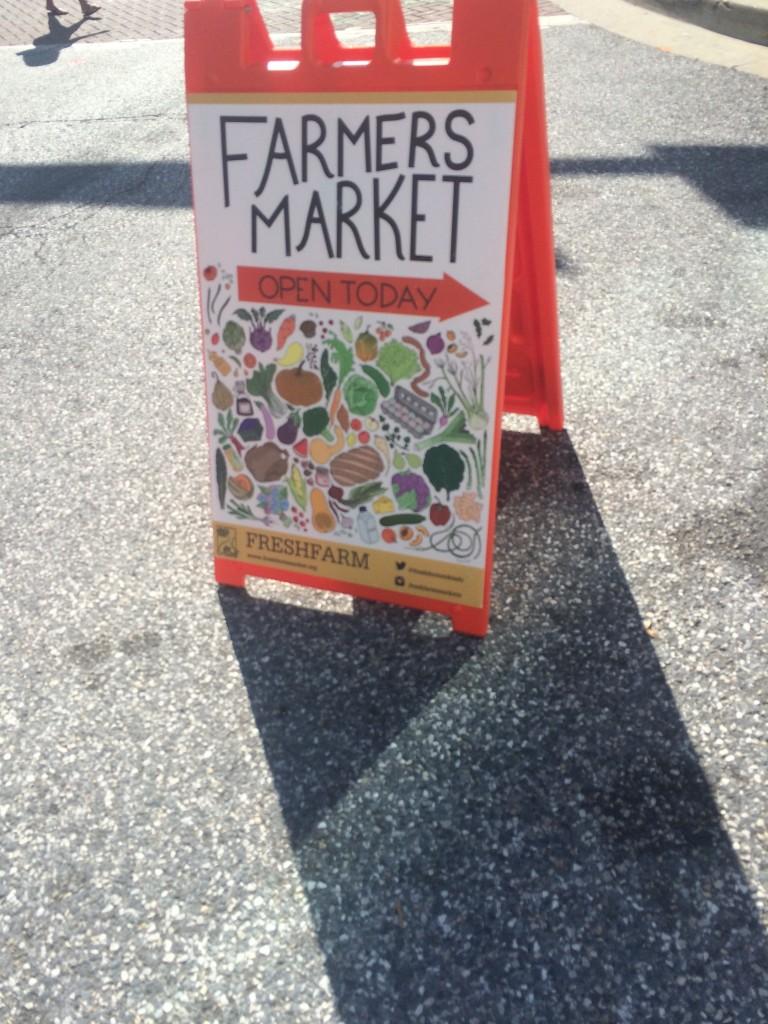 Silver Soring Farmer's Market * Once In a Blue Spoon