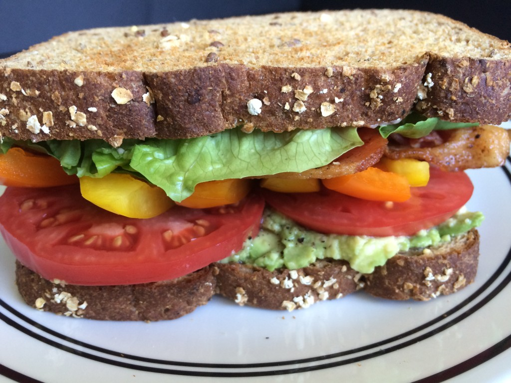 Loaded Veggie BLT * Once in  a Blue Spoon