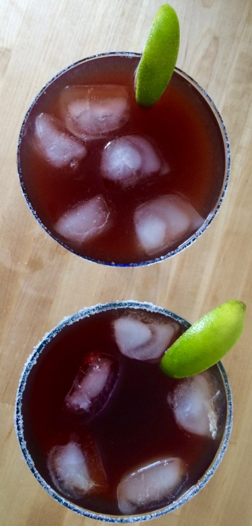 Pomegranate Margaritas * Once In A Blue Spoon