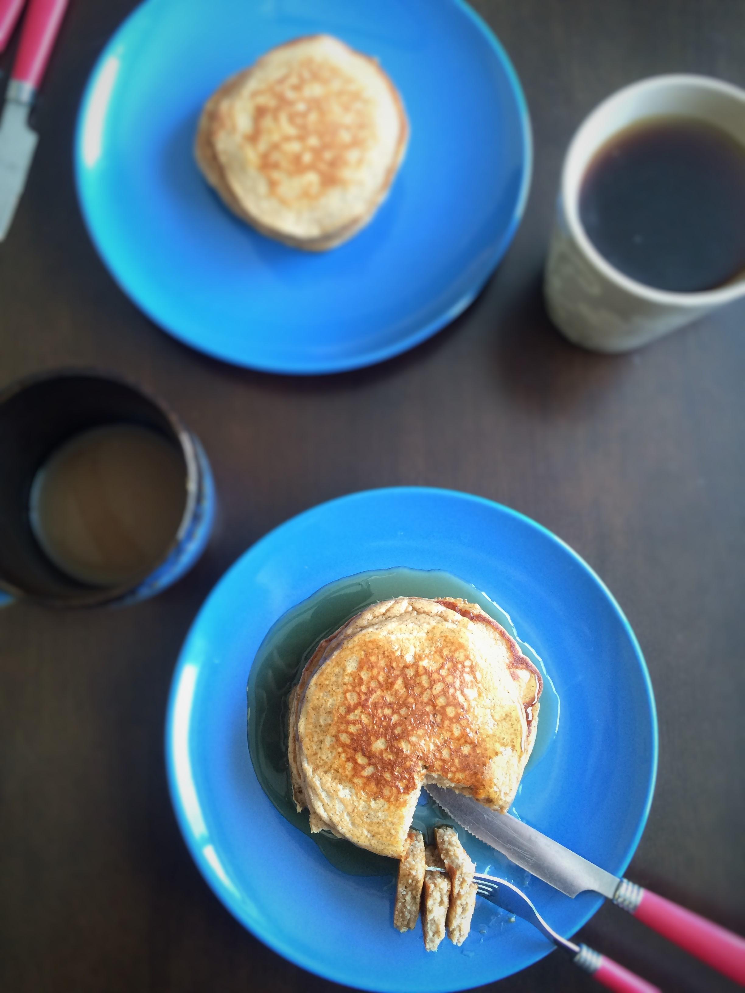 Greek Yogurt Blender Pancakes