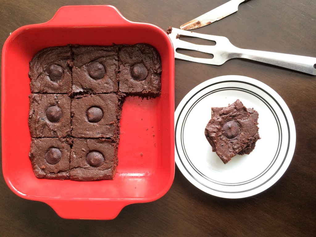 Cappuccino Truffle Brownies * Once In A Blue Spoon