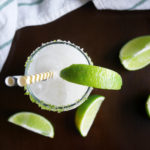 Coconut Lime Margaritas * Once in a Blue Spoon