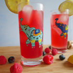 Lemon Berry Ginger Tequila Kombucha Cocktail * Once in a Blue Spoon