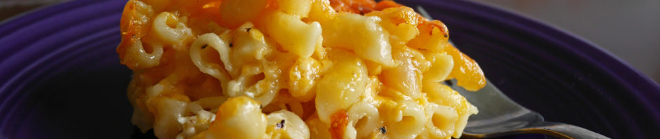 Baked Macaroni and Cheese * Once in a Blue Spoon