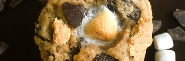 S'mores Cookies * Once in a Blue Spoon