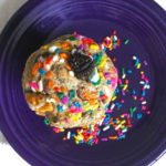 Oreo Birthday Cake Chocolate Chip Cookies * Once in a Blue Spoon