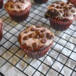 Blueberry Blackbottom Cupcake Minis * Once in a Blue Spoon